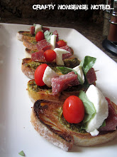 ANTI-PASTO PESTO BREAD