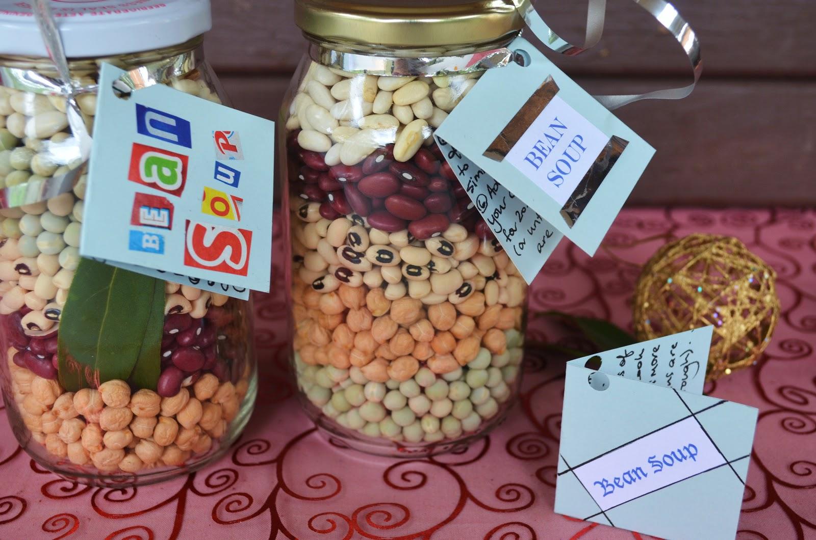 Food Jar Recipes Giving a Recipe in a Jar is