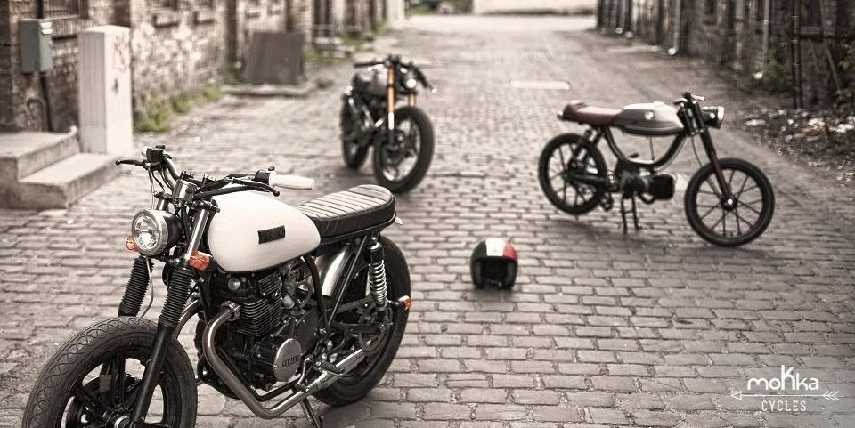 The maybug yamaha xs 250 custom bike