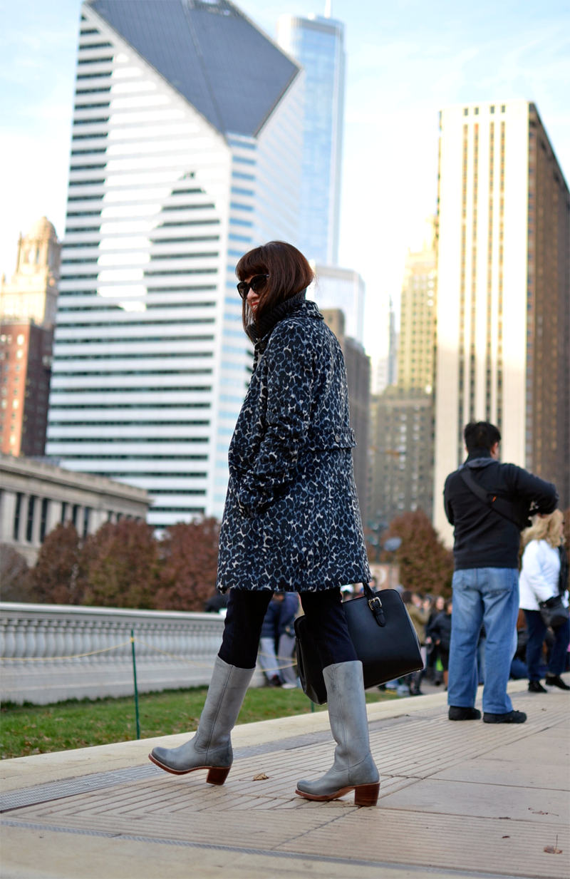 What to wear in Winter in Chicago