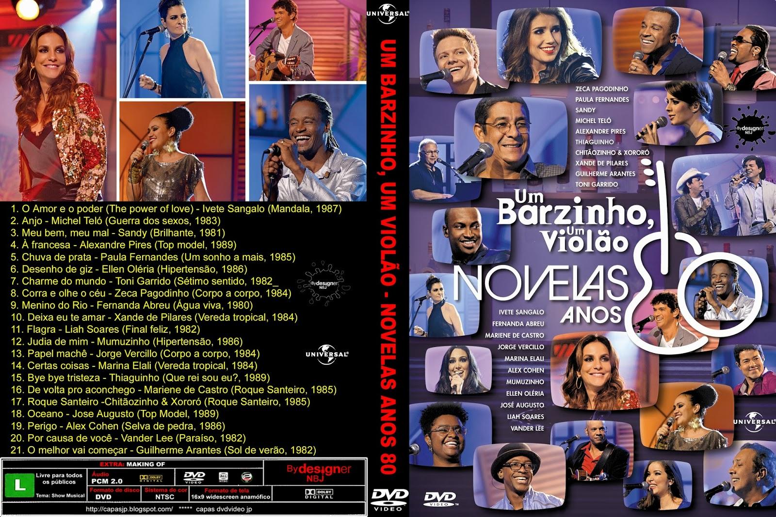 Um Barzinho, Um Violão Novelas Anos 80 DVDRip XviD 2013 UM BARZINHO UM VIOL C3 83O NOVELA ANOS 80