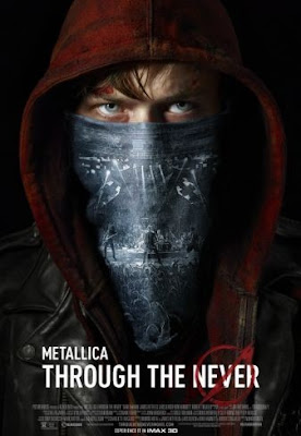 Cartel de metallica through the never