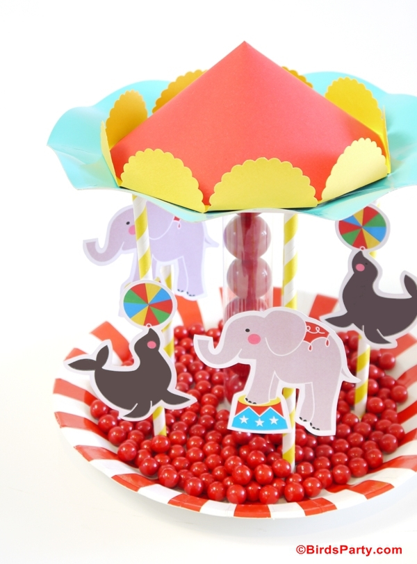 Circus Carousel Birthday Party Ideas and Inspiration Blog