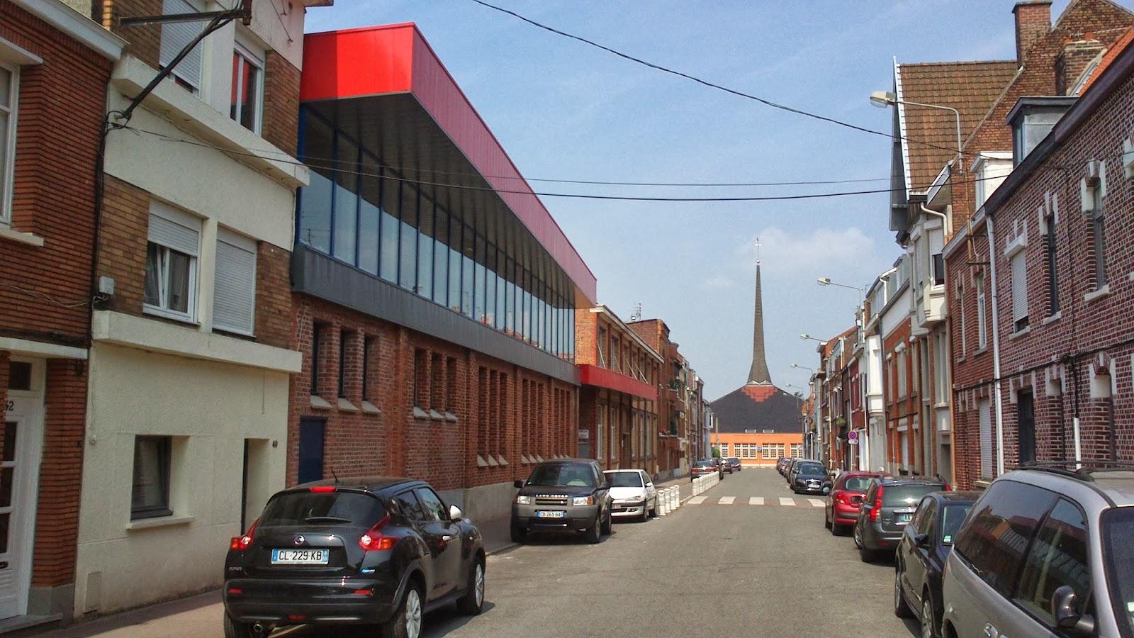Extension d 39 une cole marcq en baroeul 59 agence for Delannoy architecte