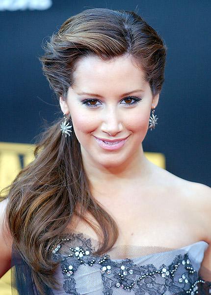fresh celebrity ponytail hairstyles