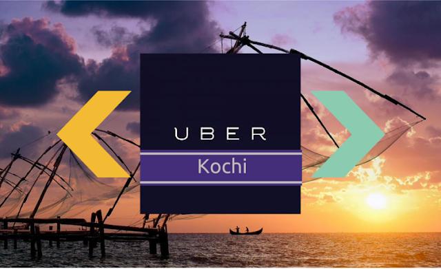 Promocode offer free ride Uber Kochi India