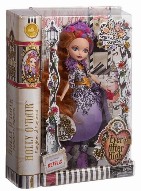 JUGUETES - EVER AFTER HIGH Spring Unsprung  Holly O'Hair | Muñeca  Producto Oficial | Mattel | A partir de 6 años