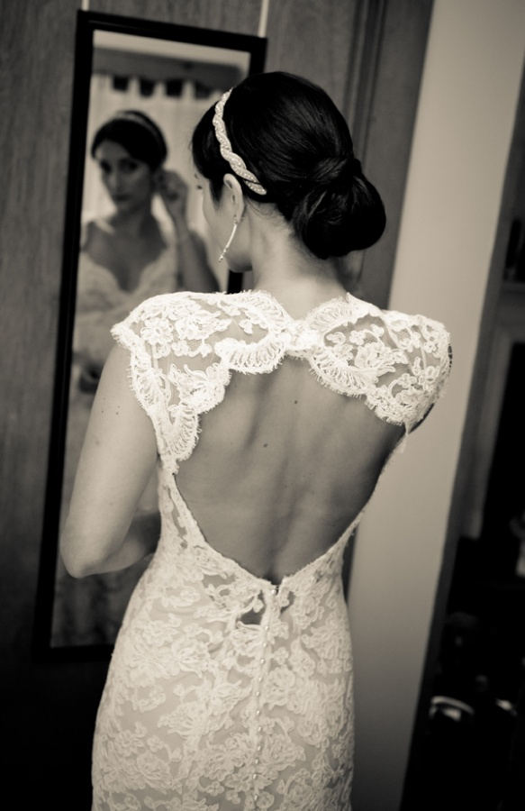 I heart wedding dress lace back wedding dresses for Lace wedding dresses open back