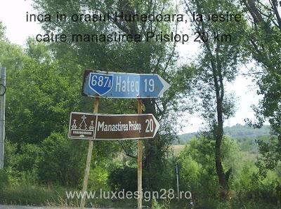 Manastirea Prislop la 20 km de la iesirea din orasul Hunedoara