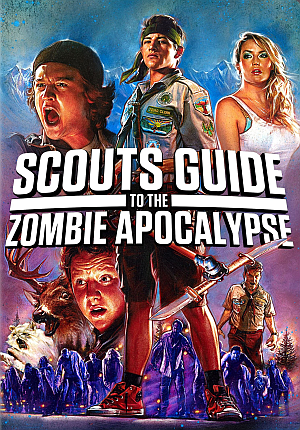 Poster Of Hollywood Film Watch Online Scouts Guide to the Zombie Apocalypse 2015 Full Movie Download Free Watch Online 300MB
