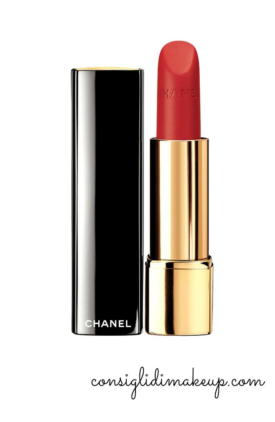 rouge allure velvet la flamboyante chanel natale 2014
