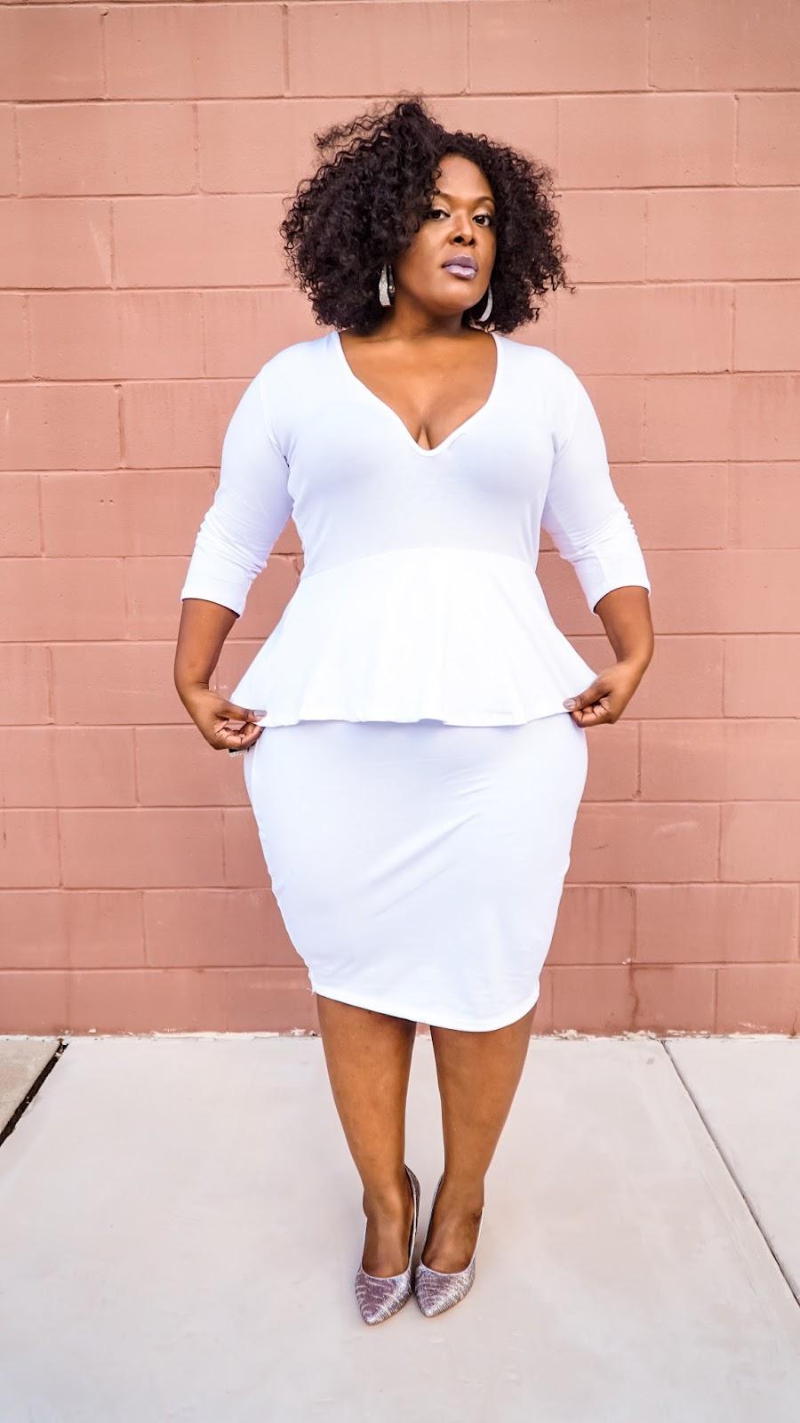 Big Bella Donna Fashion: Winter Whites with Rebdolls \