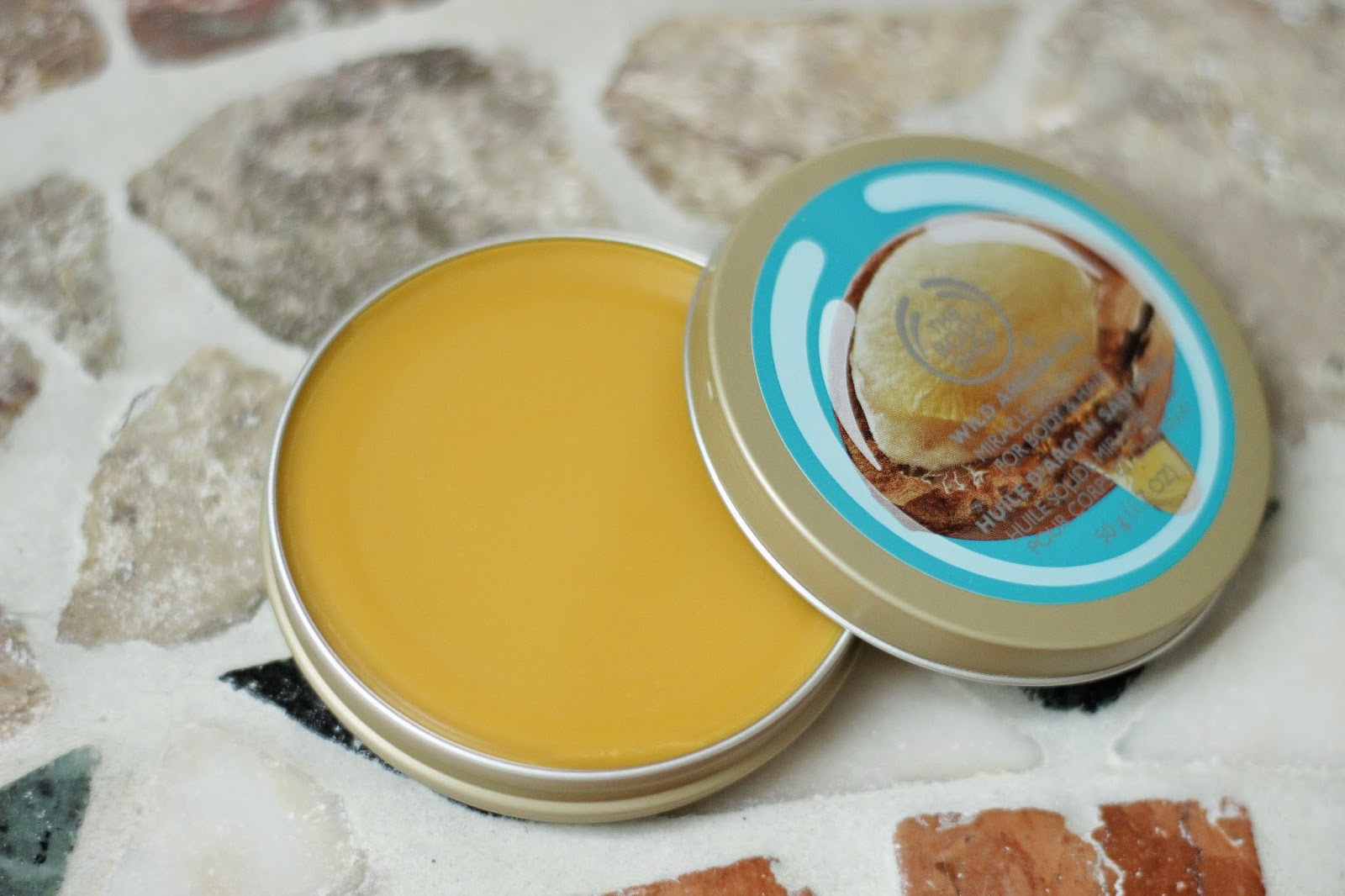 the body shop wild argan oil solid oil