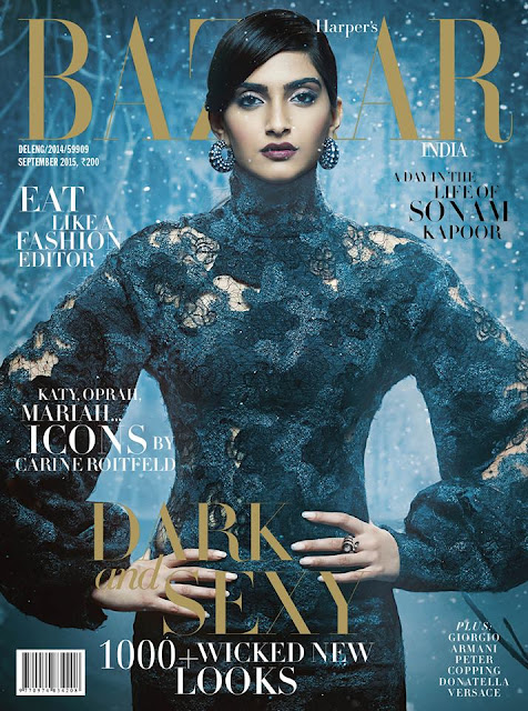 Actress @ Sonam Kapoor - Harper Bazaar India, September 2015