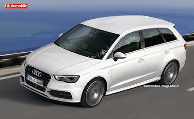 Audi Qubic 2015 : Le monospace d'Audi