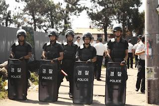 24小時全天常駐在江汀村的警察
