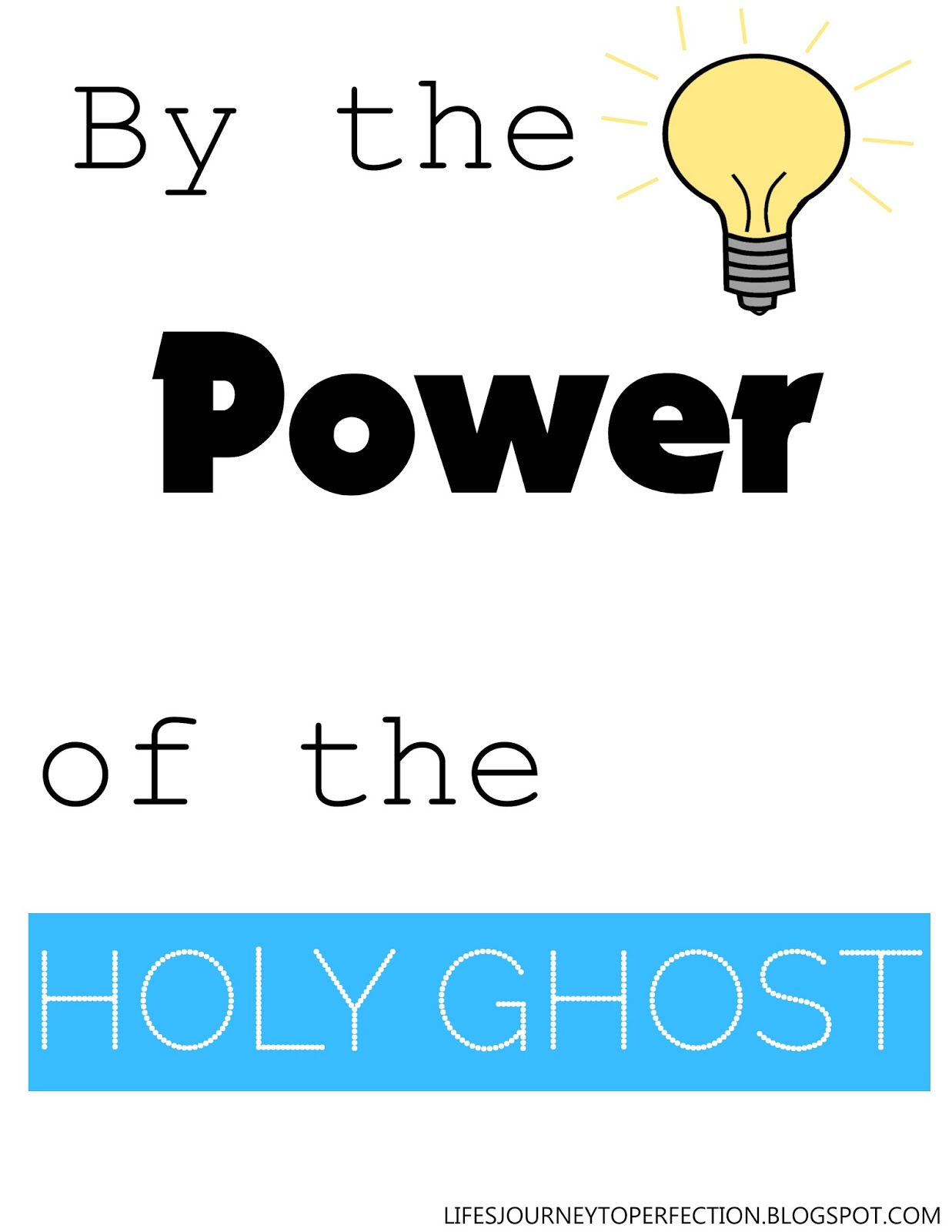 Sharing time ideas for the holy ghost testifies of truth ...