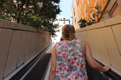 Escalators Park Güell Barcelona