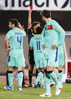 El Barça suma una racha negativa de expulsiones