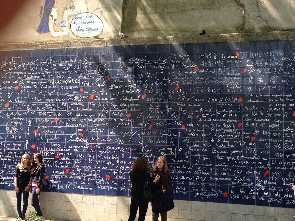 The Love Wall - Paris