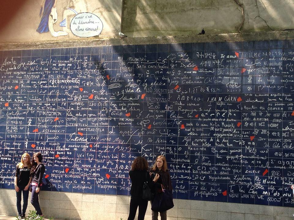 The Love Wall - Paris