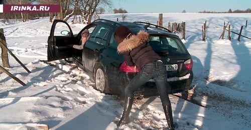 Январь 2012: девушки и BMW