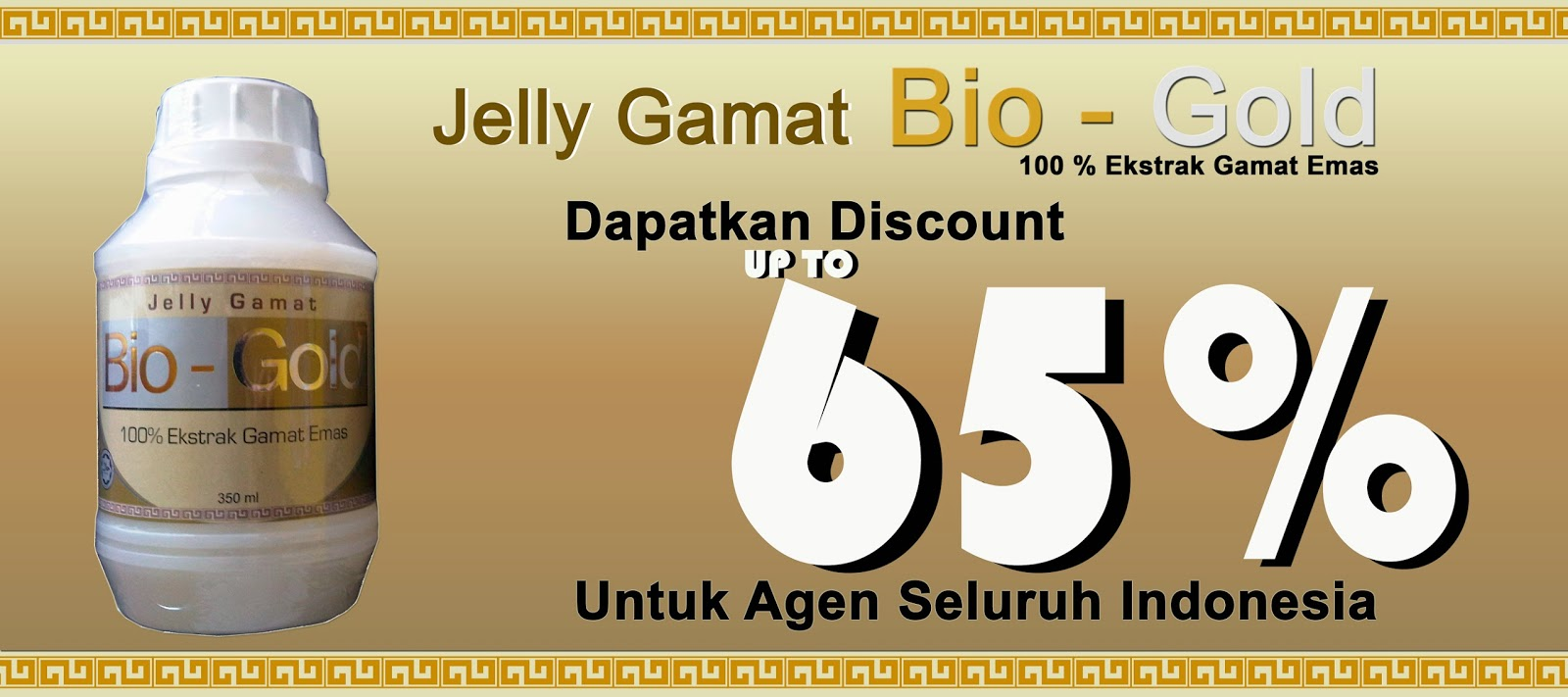Promo Jelly Gamat Bio-Gold