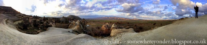 walking through Zelve Valley, Cappadocia (amazing!!!!)