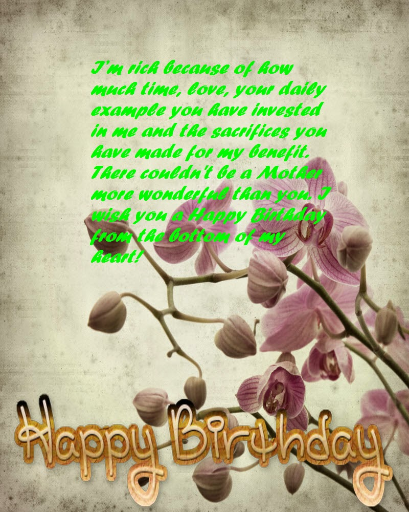 Best Birthday Wishes For Mother Birthday Message And Quotes 123