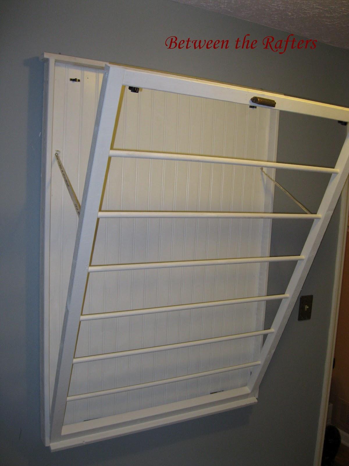 between the rafters ballard designs inspired laundry drying rack from ballard designs laundry room ideas