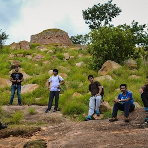 First view of Makalidurga fort