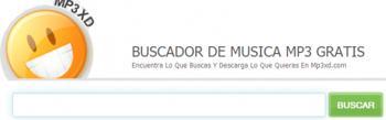 MP3XD, buscador de musica MP3 gratis