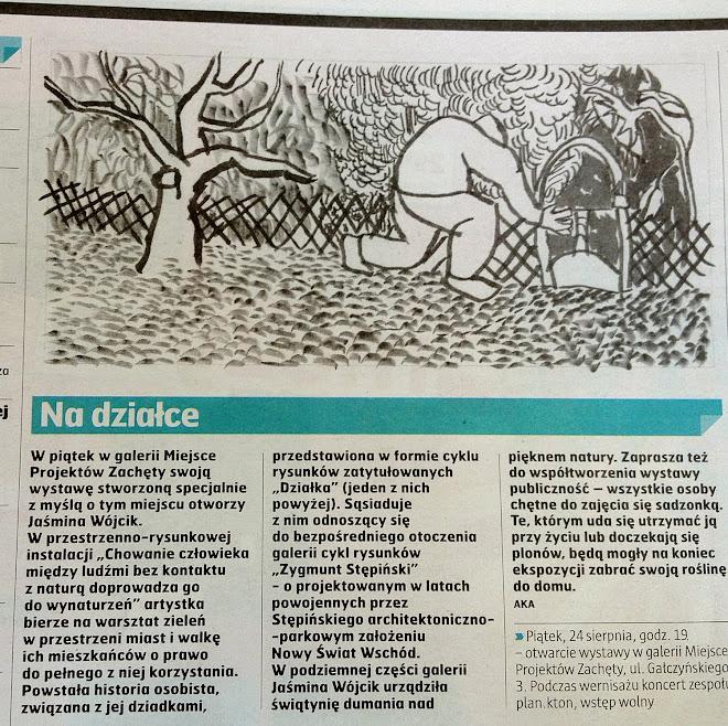 """""""Co jest grane"""", dodatek do Gazety Wyborczej,24.08.2012r."""