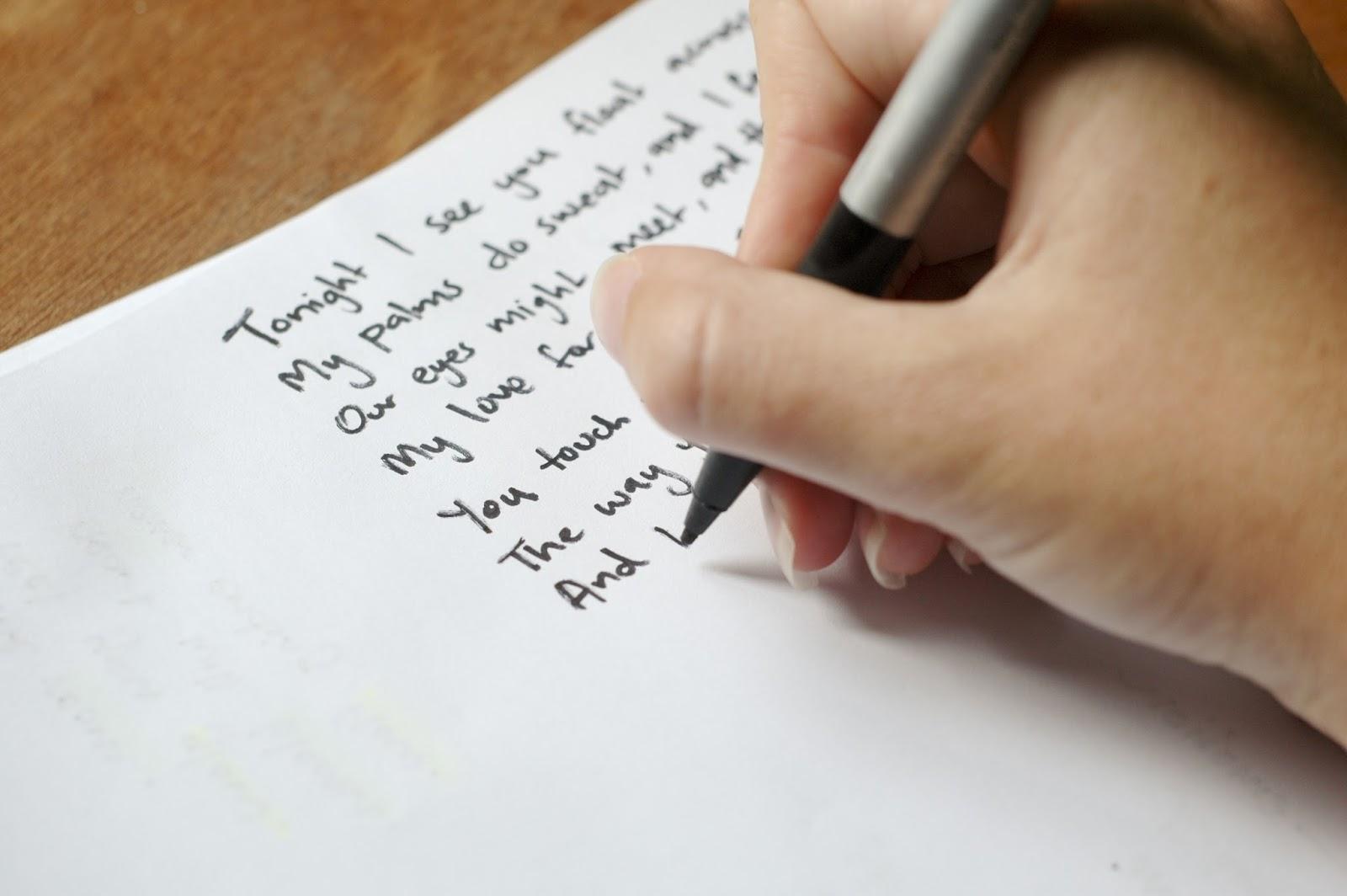 write a peom