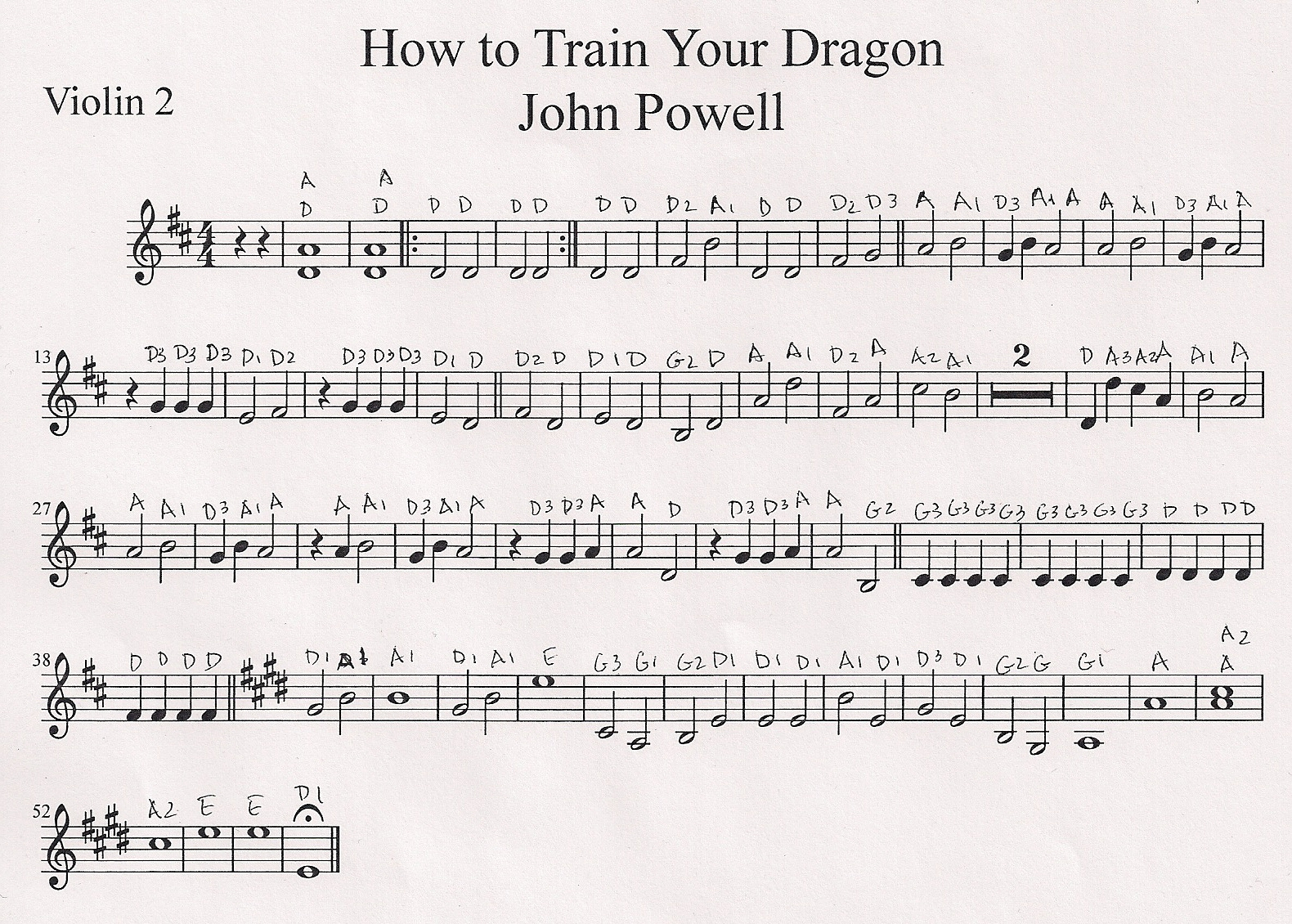 Vineyard violins how to train your dragon test drive by how to train your dragon part for c students ccuart Gallery