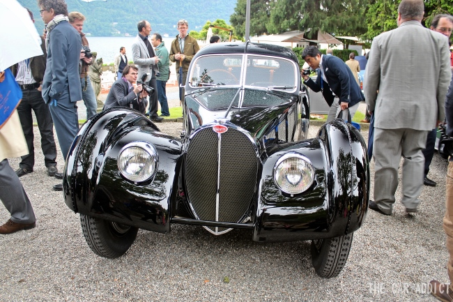 Bugatti 57SC Atlantic (1938) at Concorso d'Eleganza 2013