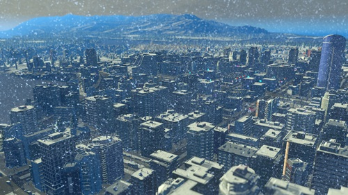Cities Skylines Snowfall - PC (Download Completo em Torrent)