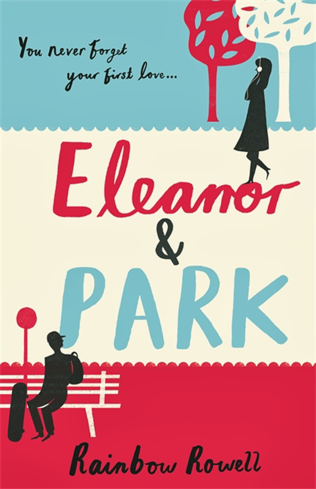 Book Cover School Uk ~ Portrait of a woman eleanor park rainbow rowell