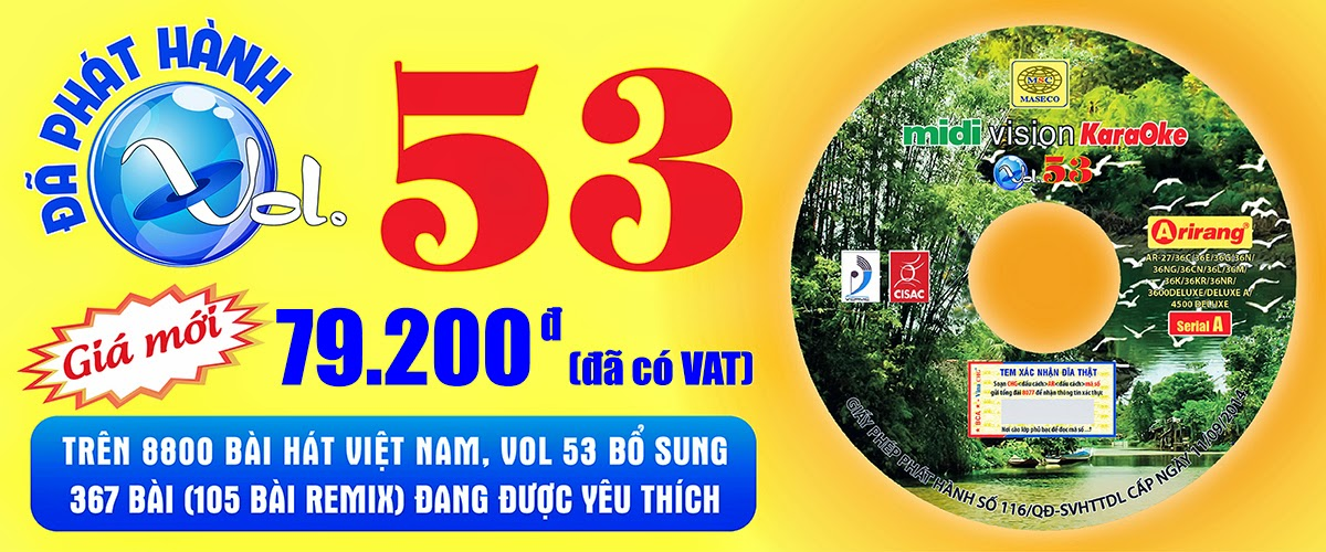 Vol 53 Karaoke Ariang