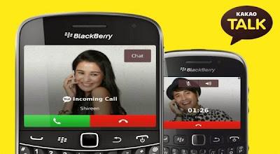 Cara Menggunakan Telpon Gratis Kakao Talk di Blackberry