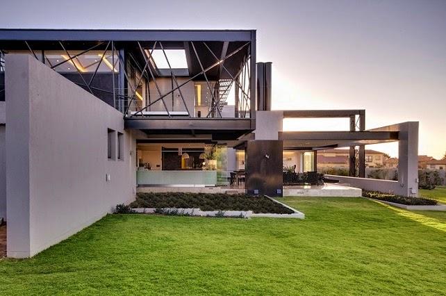 Casa ber dise o ultra moderno nico van der meulen Arquitectura y diseno de casas modernas
