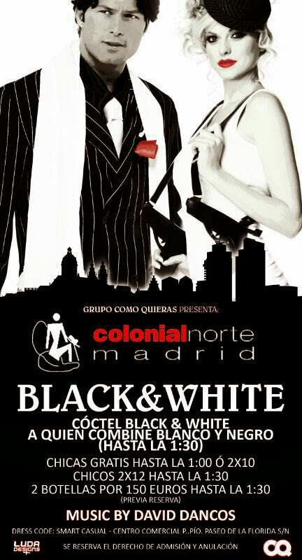 COLONIAL NORTE 6 DE MARZO BLACK & WHITE