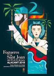 Cartel Oficial Hogueras 2019