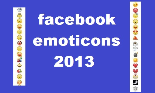 Facebook Emoticons List 2013