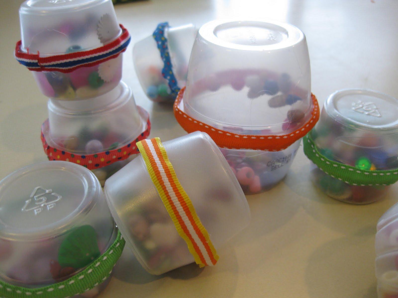 Поделки из баночек под йогурт для детей