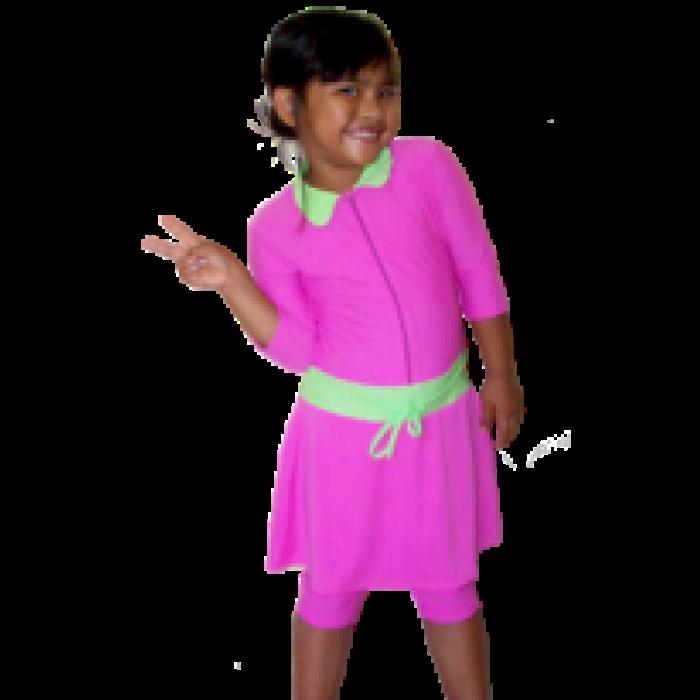 Baju Renang Anak Perempuan Polos