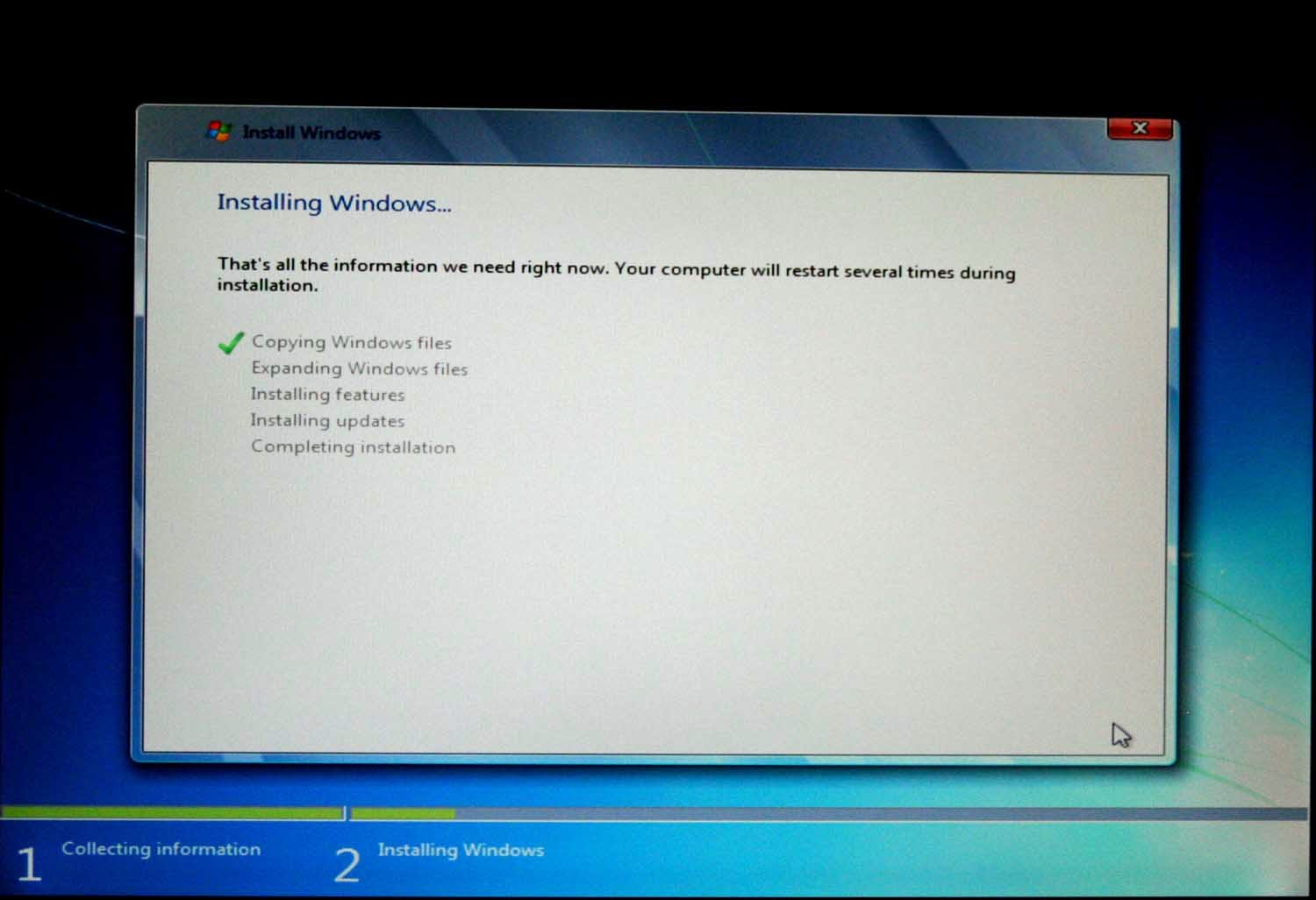 how to wipe hard drive and reinstall windows 7