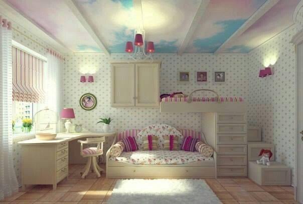 مجموعه من تصميمات لغرف الأطفال Children's room 2015