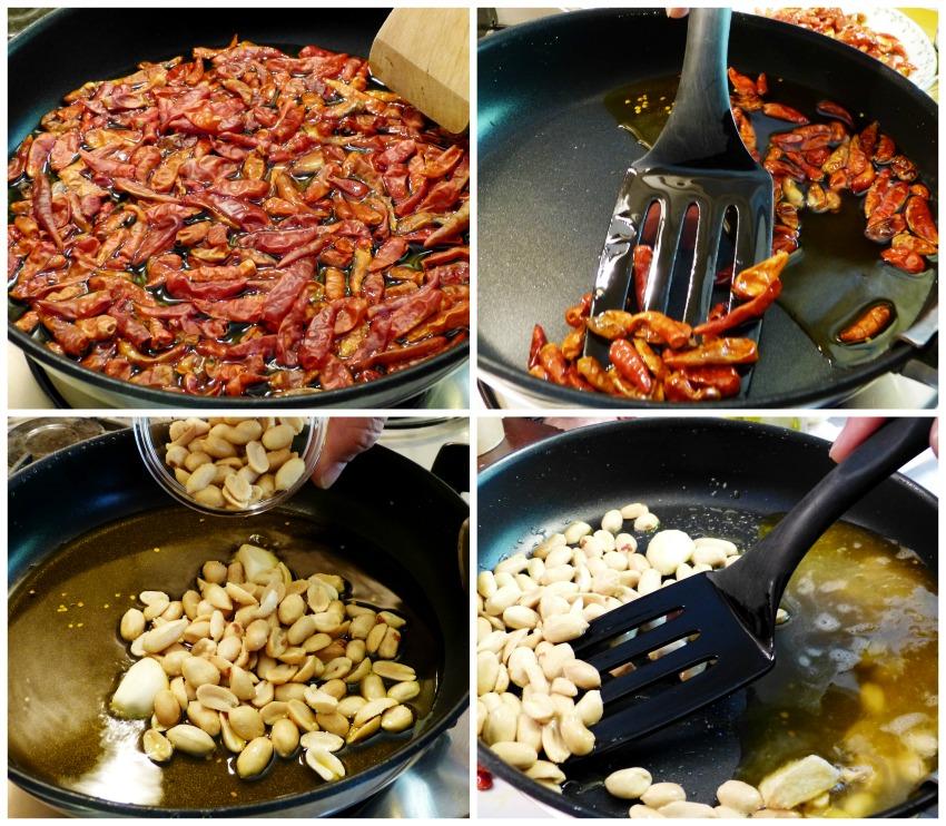 elaboración salsa macha