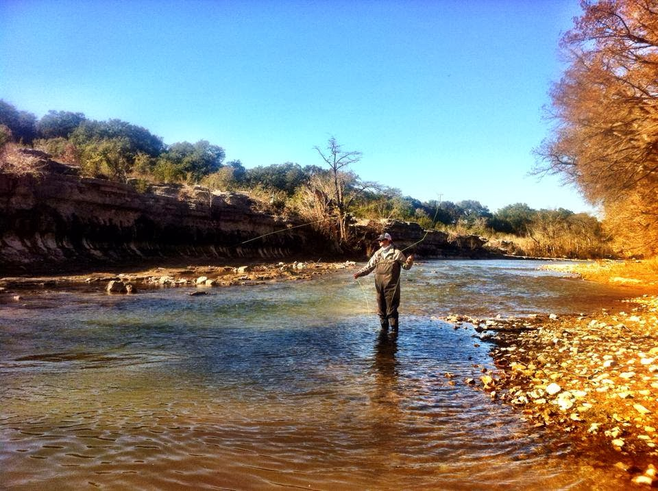 Fly fishing texas passing it on for Fly fishing texas